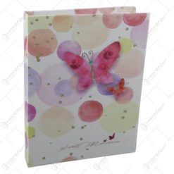 Album foto cu design floral/fluturi
