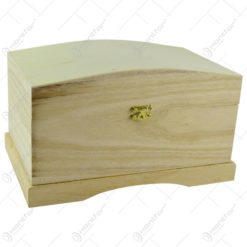 Cutie pentru depozitare realizata din lemn