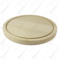 Tocator rotund din lemn diametru 18 CM