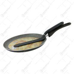Tigaie pentru clatite cu spatula 24 CM Blaumann negru