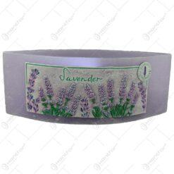 Lumanare tip lampion - Lavender 26x10 CM