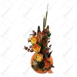 Aranjament floral cu flori uscate