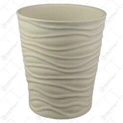 Ghiveci ceramica Sonora Crem 14x15 CM