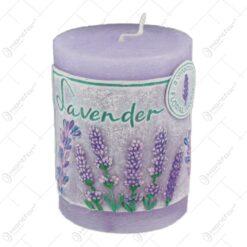 Lumanare cilindrica parfumata - Lavender 7x9 CM