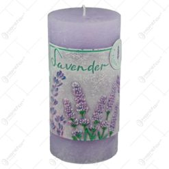Lumanare cilindrica parfumata - Lavender 7x14 CM