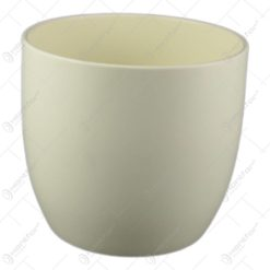 Ghiveci ceramica Basel Fashion Crem 14x13 CM