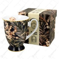 Cana portelan 325 ml Yucca in cutie decorativa