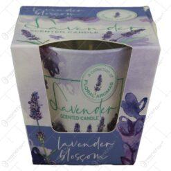 Lumanare parfumata in pahar Lavender&Mint/Lavender Blossom