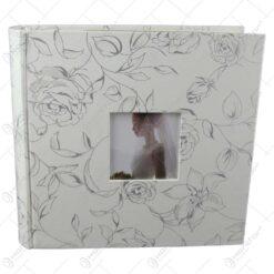 "Album foto ""Wedding"" cu model floral"
