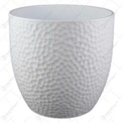 Ghiveci ceramica Boston White 21x20 CM
