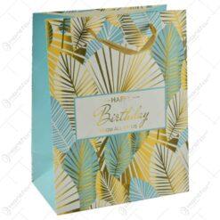 """Punga pentru cadouri - Design cu mesajul """"Happy Birthday"""""""