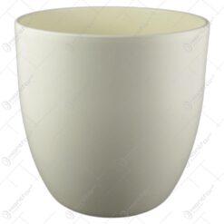 Ghiveci ceramica Basel Fashion Crem 24x23 CM