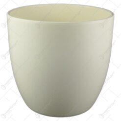 Ghiveci ceramica Basel Crem 21x20 CM
