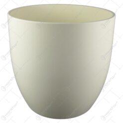 Ghiveci ceramica Basel Fashion Crem 27x26 CM