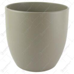 Ghiveci ceramica Basel Fashion Gri 19x18 CM