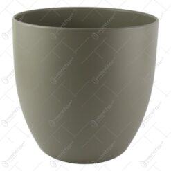 Ghiveci ceramica Basel Fashion Gri 24x23 CM