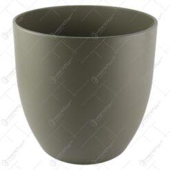 Ghiveci ceramica Basel Fashion Gri 27x26 CM