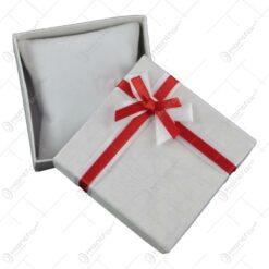 Cutiuta bijuterii decorata cu fundita - Se vinde 12buc/bax