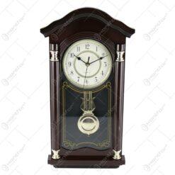 Ceas de perete cu pendula din lemn 50 CM