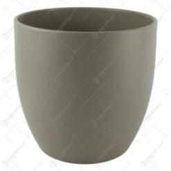 Ghiveci ceramica Basel Fashion Gri 21x20 CM