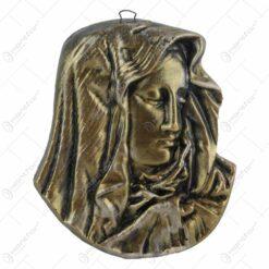 Placheta din ipsos Isus/Maria 15 CM