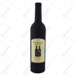 Set 5 accesorii pentru vin in cutie sub forma de sticla - Diverse modele