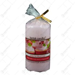 Lumanare parfumata cilindrica - Fruit Muffins
