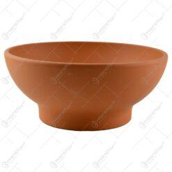 Bol pentru servire realizata din argila