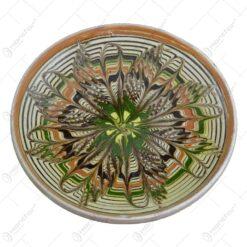 Farfurie realizata din ceramica de Horezu - Diferite modele