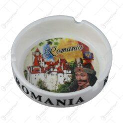 Scrumiera din ceramica 10 CM - Vlad Tepes/Romania