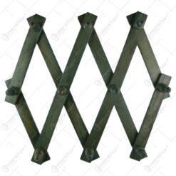 Cuier reglabil rustic din lemn 86X42 CM