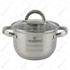 Oala cu capac din inox 1.8 L Blaumann - Gourmet Line