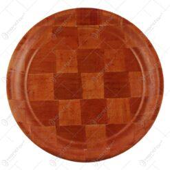 Tava rotunda din bambus 30 CM