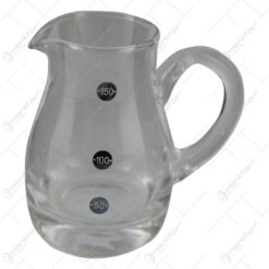 Cana gradata mini din sticla 150 ml