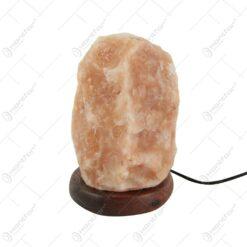Lampa din cristale de sare de Himalaya 7x10 CM