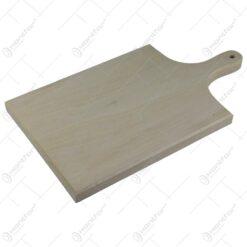 Tocator din lemn cu maner 35x20 CM