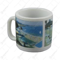 Cana mini pentru decor din ceramica Litoral/Mamaia 4 CM - Se vinde 20 buc/bax.
