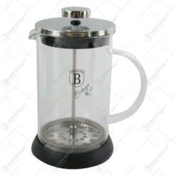 Presa Cafea/Ceai Berlinger Haus 600 ml - Colectia Black Silver