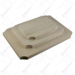 Set 3 tocatore din lemn avand diferite marimi 34x25 CM