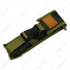 Briceag cu lama blocabila din otel cu husa si cu maner din lemn 35 CM