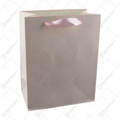 Punga cadou din hartie 18x23 CM Unicolor Roz