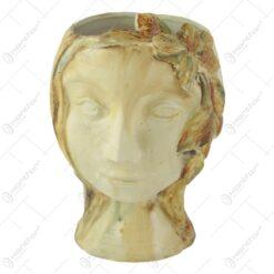 Ghiveci Izabela din ceramica 17x23 CM