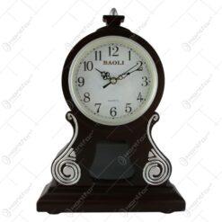 Ceas de masa din lemn 27x39 CM