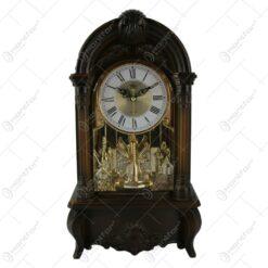 Ceas de masa din lemn 19x34 CM