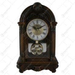 Ceas de masa din lemn 19x31 CM