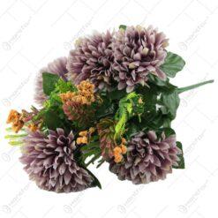 Buchet artificial cu Crizanteme 40 CM
