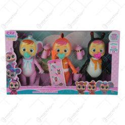 Set 3 figurine Cry Baby