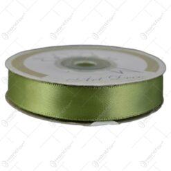 Panglica din satin verde 15mmx25m