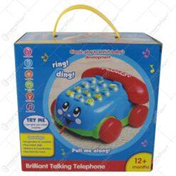 Telefon educativ pentru copii cu lumini si sunete