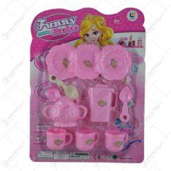 Serviciu ceai pentru copii din plastic 11 piese